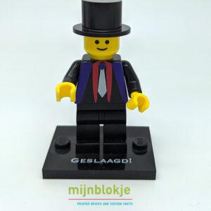 Lego Minifig afgestudeerd