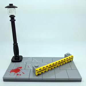 Lego Crime Scene by Mijn Blokje