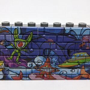 Graffitimuur Lego Mijn Blokje