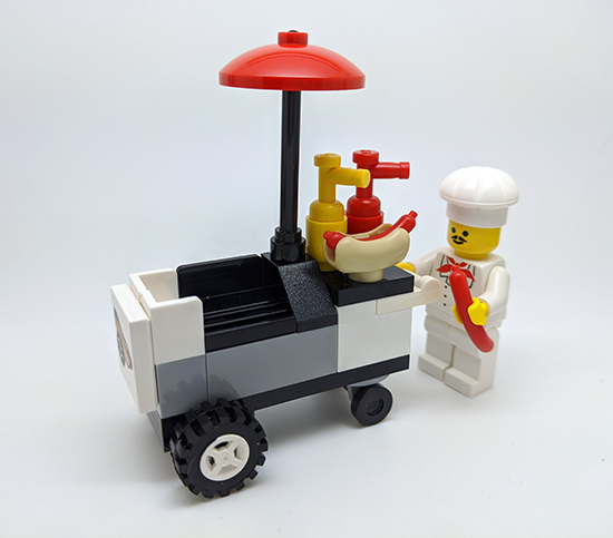Lego hotdogkraam