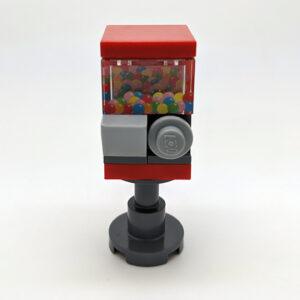 Lego kauwgomballenautomaat
