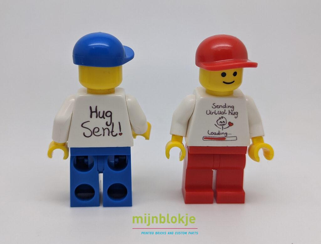 Lego virtuele hug minifig
