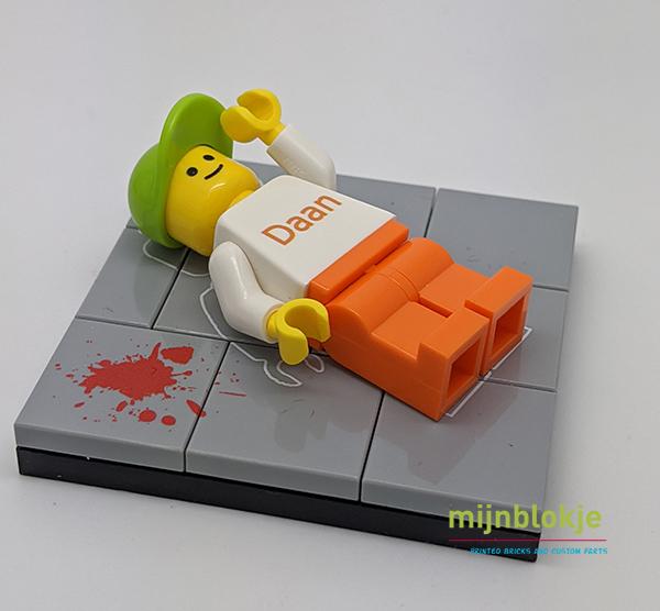 Lego crime scène
