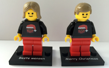 Lego Kerst minifig