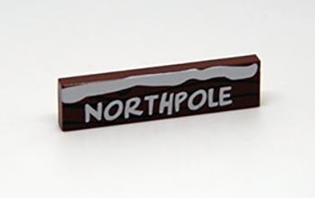 Lego kerstwegwijzer Northpole
